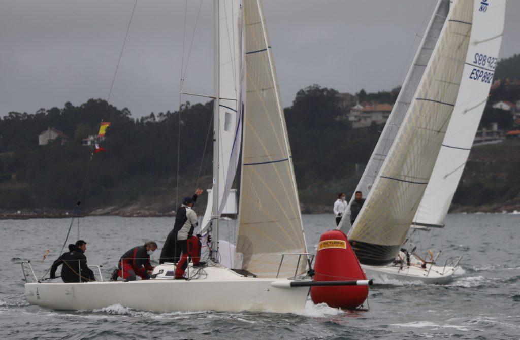 """Buena regata del barco del Náutico de La Coruña que patronea Guillermo Blanco: """"Impresión 3D Atlántico"""""""